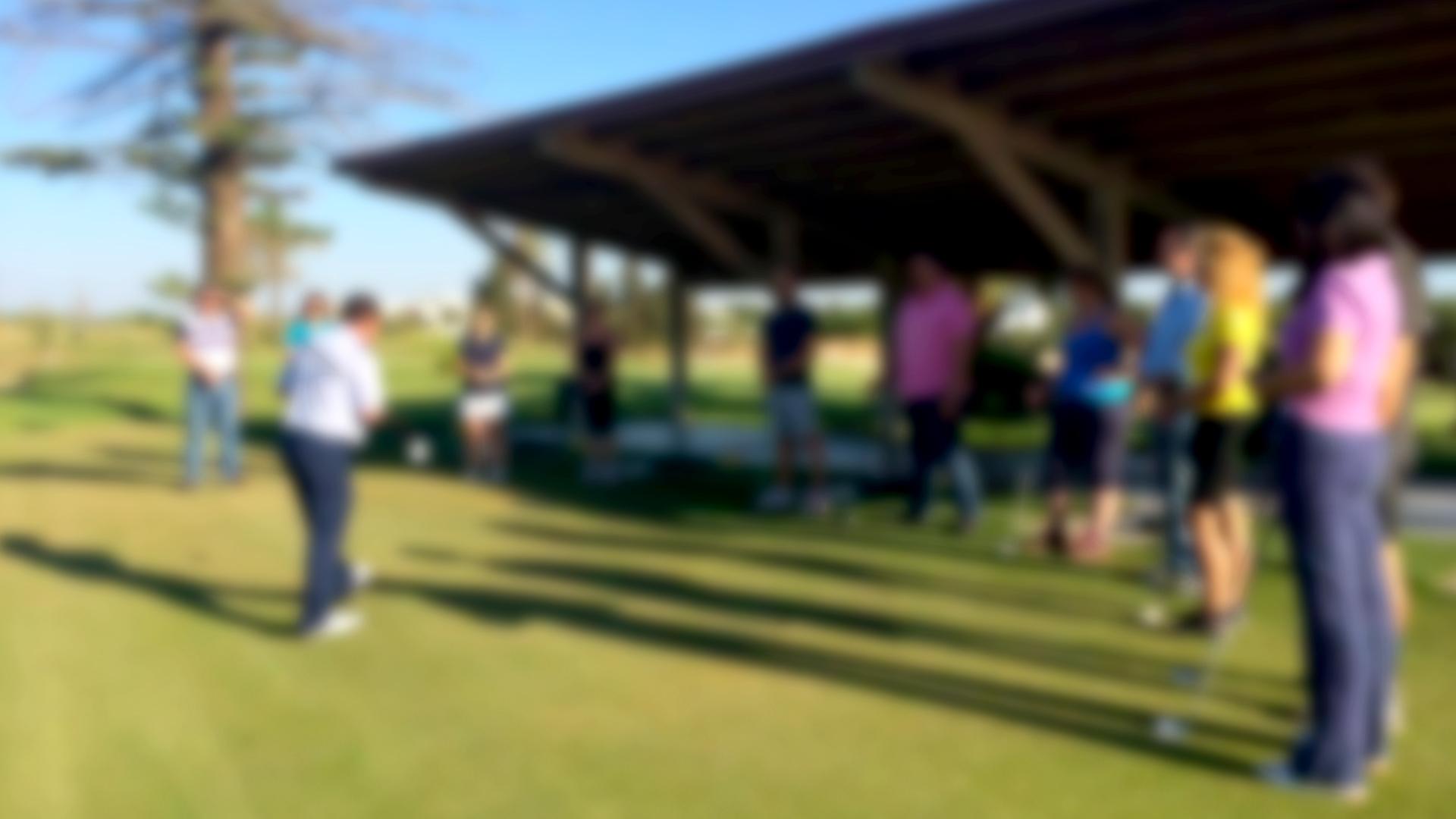 Clinic de golf para grupos y empresas