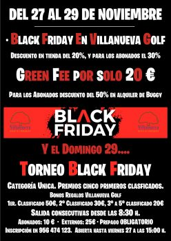 TORNEO BLACK FRIDAY