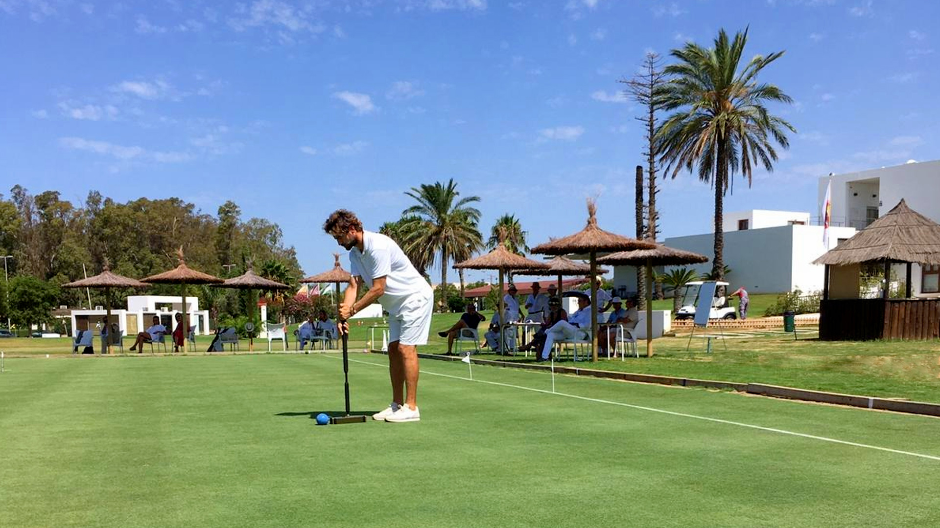 campo de croquet en Cádiz